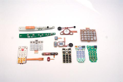 端末機用入力キーボード